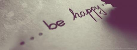 Be Happy Facebook Cover Photo