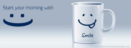 Keep Smiling Facebook Cover Photo