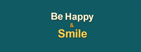 Be Happy And Smile Facebook Cover Photo