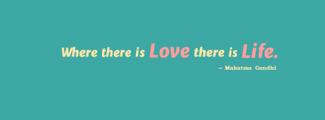Where There Is Love Facebook Cover Photo