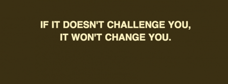 If It Doesn't Challenge You Facebook Cover Photo