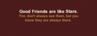 Good Friends Are Like Stars Facebook Cover Photo