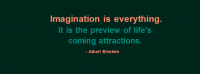 Imagination Is Everything Facebook Cover Photo