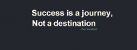 Success is a Journey Facebook Cover Photo